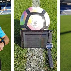 Futbalový rozhodca - inovatívne riešenie od Samsungu