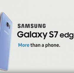 Galaxy S7 Edge je teraz dostupný v korálovo modrej