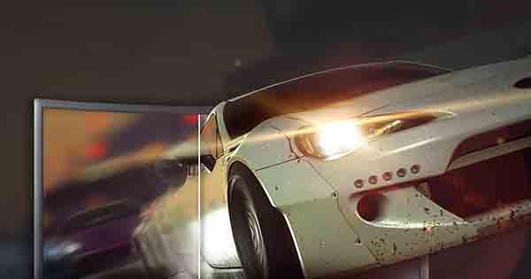 Zakrivený herný monitor CFG70 mení pravidlá hry